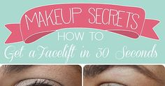 How to Get a Facelift in 30 Seconds, can't wait, to try this.