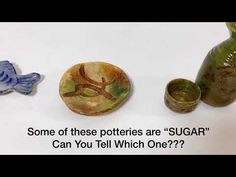 "Some of these Potteries are ""SUGAR"" Can You Tell Which One???? - YouTube Cake Youtube, Baked Potato, Pottery, Sugar, Canning, Ethnic Recipes, Food, Ceramica, Pottery Pots"