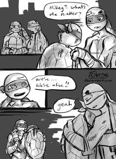 i'm being very productive today, the next page is already in progress pg 1: pg 3: story (c) & TMNT12 (c) Nickelodeon