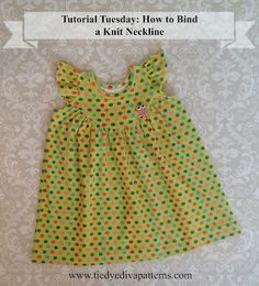 Tutorial Tuesday: How to Bind a Knit Neckline