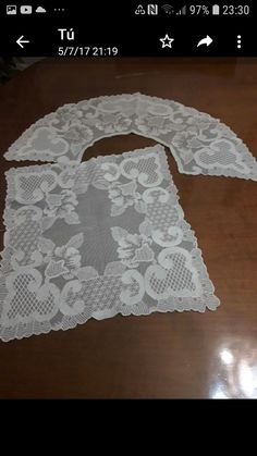 Crochet, Women, Fashion, Lace Drawing, Tambour Embroidery, Tulle Lace, Sewing Crafts, Doilies, Wedding Tissues