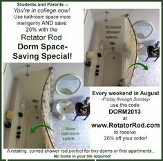 Rotator Rod — Proper Dorm  First Apartment Etiquette for Incoming Freshman
