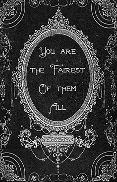 Oliver Gal 'The Fairest Fashion Art' Wrapped Canvas Print # Fashion art 'Oliver Gal' Wrapped Canvas Textual Art on Canvas John Bauer, Deco Disney, Wall Art Prints, Canvas Prints, Canvas Art, Narcisse, Fairest Of Them All, Alphonse Mucha, The Villain