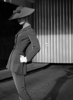 Bambi in suit by Gehringer & Glupp, Berlin 1956