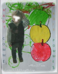 Top like 3 apples alban . Apple Theme, Petite Section, Keith Haring, Fall Diy, After School, Learning Activities, Arts And Crafts, Math, Painting
