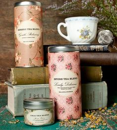 Mullein  Sparrow Organic Tea Gift Set | Food  Drink Beverages  Cocktails | Mullein and Sparrow | Scoutmob Shoppe | Product Detail