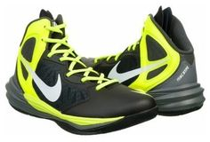 Take it to the hoop in the Nike Prime Hype Basketball Shoe. Synthetic and mesh upper in an athletic basketball shoe style Lace-up front, padded collar Logo details Dual-density foam midsole Phylon cushioning midsole Rubber traction outsole with pivot points
