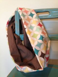 Sophisticated Scarf Tutorial. Toddler! Loopy Scarf. Easy! Learn to sew. I'll teach you. www.frombugstobows.wordpress.com