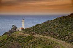 A lighthouse lonely but peaceful: Sarpıncık by Hakan Turkoglu on 500px