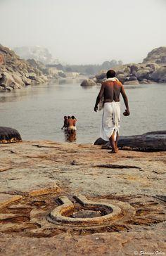 Chakratirtha, # Hampi, Karnataka, India