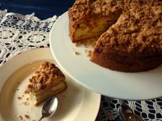 Apple Sour Cream Cake with Crumble Topping. I used to make this cake 20 years ago!!! I'm glad I found it online and it is still as yummy as I remember...