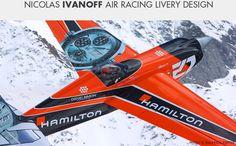 Nicolas Ivanoff Air Racing Livery | danielsimon