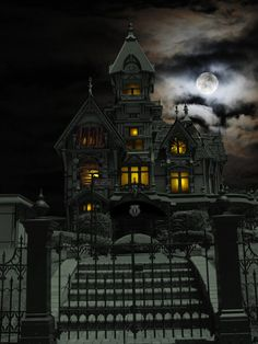 Haunted House by ~MistyBlue2010 on deviantART