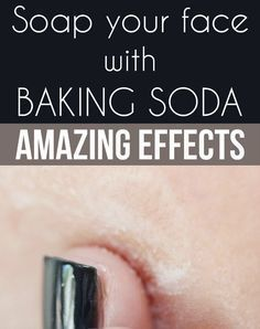 Soap your face with baking soda – Amazing Effects! Baking Soda Face Scrub, Baking Soda Bath, Sugar Scrub For Face, Baking Soda Cleaning, Baking Soda Shampoo, Dry Shampoo, Dry Scalp, Baking Soda Beauty Uses, Baking Soda Uses