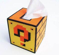 Nintendo tissue holder
