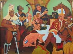 A Marikana-themed painting depicting President Jacob Zuma and other political figures by artist Ayanda Mabulu has been removed from the art fair. Art History Lessons, Learning For Life, South African Art, Cultural Studies, Africa Art, Watercolor Portraits, Pablo Picasso, Art Fair, Black Art
