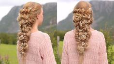 Twisted wedding hairstyle - YouTube