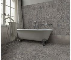 Skyros Delft Grey Wall and Floor Tile
