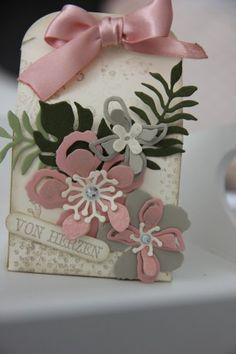 Stampin' Up! Botanical builder, bloom, box