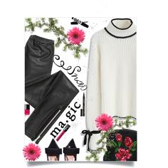 Winter Magic by juliehooper on Polyvore featuring Chicwish, Blondoll, NARS Cosmetics and Smith & Cult