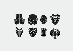 Pacific Rim Jaeger Icons by Surfsideaaron.deviantart.com on @deviantART