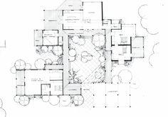 emejing hacienda courtyard house plans gallery - 3d house designs