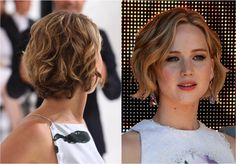 The 20 Hottest Bob Hairstyles for 2014: Jennifer Lawrence's Sassy Bob
