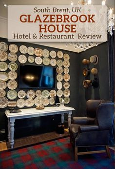 A truly remarkable, designer hotel in Devon in the south west of England: Glazebrook House Hotel