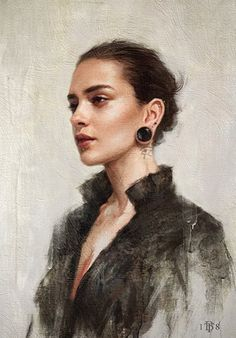 Paintings by Tom Bagshaw Oil Portrait, Female Portrait, Female Art, Woman Portrait, Character Portraits, Character Art, Woman Painting, Anime Comics, Painting Inspiration