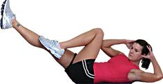 This Basic Total Body Home Workout is perfect for when you want to work all your muscle groups with a short, simple workout.  All you need are some dumbbells.: Bicycle