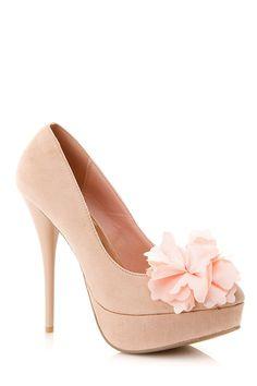 Diva Lounge Flower Almond Toe Pump @ Cicihot Heel Shoes online store sales:Stiletto Heel Shoes,High Heel Pumps,Womens High Heel Shoes,Prom Shoes,Summer Shoes,Spring Shoes,Spool Heel,Womens Dress Shoes,Prom Heels,Prom Pumps,High Heel Sandals