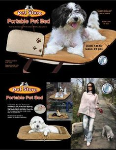 Portable Pet Bed * Continue to the product at the image link.