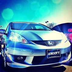 2011 Honda Fit...crystal blue