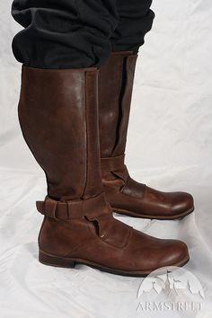 DISCOUNTED PRICE Mens High Leather Boots in by armstreet on Etsy