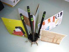 Diy back to school : DIY Pimped-Out Pencil  Photo Holder