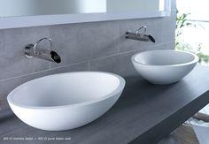 JEE-O moloko basin - vrijstaande opbouw wastafel - Product in beeld - - De beste badkamer ideeën | UW-badkamer.nl