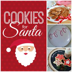 diy cookie plates for santa All Things Christmas, Christmas Cookies, Christmas Holidays, Christmas Crafts, Christmas Ideas, Christmas Recipes, Holiday Ideas, Merry Christmas, Breakfast Cafe