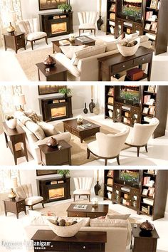 ideas apartment living room set up layout furniture arrangement - living room furniture layout Living Room Arrangements, Living Room Furniture Arrangement, Living Room Furniture Layout, Living Room Seating, Living Room With Fireplace, Living Room Interior, Living Room Designs, Arranging Furniture, How To Arrange Furniture