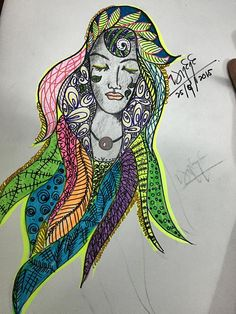 Doodle#Silent#Girl