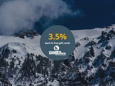 Get $5 off every $50 at Gander Mountain PLUS earn 3.5% back in free gift cards through Rewardica: