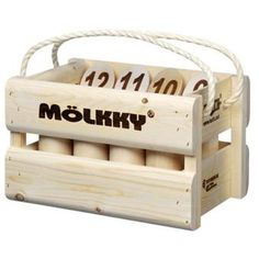 Jeu de Quilles Molkky Tactic Version Luxe