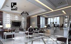 silver interior design ideas living room