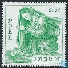 Postage Stamps - Rwanda - Christmas
