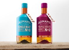 Cook Chick Design: Adnams: Whisky
