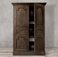 Montpellier Panel Double-Door Cabinet: Restoration Hardware