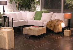Move On table with castors Outdoor Sectional, Sectional Sofa, Outdoor Furniture Sets, Outdoor Decor, Interior Design, Table, Home Decor, Nest Design, Modular Couch
