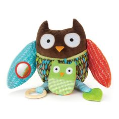 Amazon.com: Skip Hop Hug and Hide Activity Toy, Owl: Baby