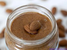 The debate about whether almond butter is healthier than peanut butter comes up often in my conversations with people about food and fitness, so it's about. Healthiest Nut Butter, Homemade Almond Butter, Almond Nut, Dog Health Tips, Gula, Can Dogs Eat, Raw Almonds, Food Is Fuel, Dog Eating