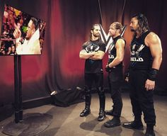 The Shield BackStage