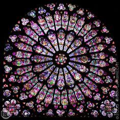 Rose window in the Notre Dame Cathedral. Another pic I took while in Paris. Also lost years ago.
